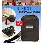 BUXTON Genuine Leather Cell Phone Wallet