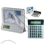 Calculator Clock Photo Frame