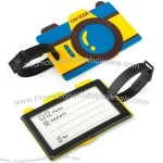 Camera Shape Luggage Tag with Identification Card