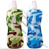 Camouflage Color Collapsible Water Bottle