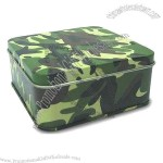 Camouflage Color Metal Gift Box