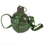 Camping Bicycling Healthy Portable Chinese Military Cup 1.2L Water Bottle Canteen