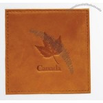 Canadiana Leather Collection Coasters
