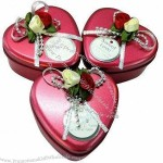 Candy Gift Box With Ribbon Or Magnet Seal