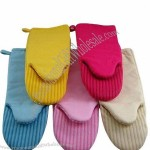 Canvas Silicone Gloves
