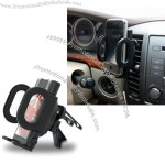 Car Air Vent Mount with Adjustable Universal Holder, for GPS PDA Mobile Phone