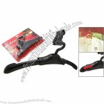Car Auto Travel Coat Clothes Black Hanger Valet with Hook