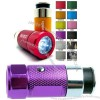 Car Cigarette Lighter Rechargeable LED Flashlight