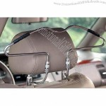 Car Clothes Rack with Zinc-coated