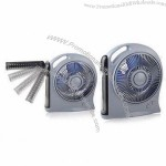 Car Fan with 26-piece LED Light and Two Speed Settings