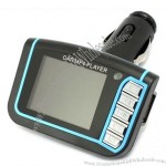 Car MP4 MP3 Players 1.8inch LCD screen FM Transmitter SD MMC E10W