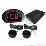 Car Parking Assist System with LED Digital Display and Built-in Buzzer Alarm