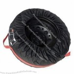 Car tire cover with logo printing
