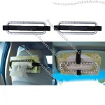 Car Tissues Box Holder Fixture with Crystal