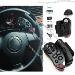 Car Universal Steering Wheel Remote Control Learning for DVD GPS DV CD MP4