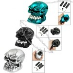 Car Vehicle Decoration Skull Head Style Gear Shift Lever Knob