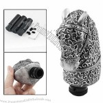 Car Vehicle Decorative Gray Horse Head Style Gear Shift Knob