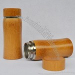 Carbonized Bamboo Mug with Stainless Steel Liner