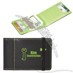 Card Holder With Money Clip