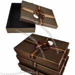Cardboard Brown Gift Boxes
