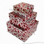Cardboard Gift Boxes, Available in Various Colors and Sizes