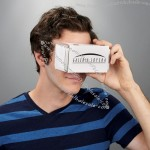 Cardboard Virtual Reality Custom Goggles Headset