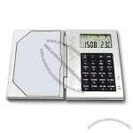 Cardcase Calculator W/ Calendar Clock