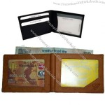Cardholder With Double Window ID Case