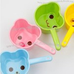 Cartoon Animal Design Plastic Water Bailer