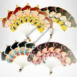 Cartoon Court Family Hand Fan