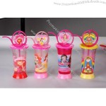Cartoon Cups with Straw