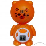 Cartoon LED Reading Light Alarm Clock