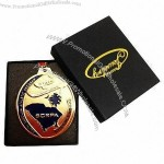 Casting Metal Medal for Awards/Souvenirs, 2D Design with Box Package