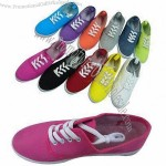 Casual Shoes, Upper Made Of Canvas Fabric