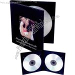 CD / DVD cameo cover folio with magnetic closure.