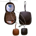 CD / MP3 player carrier with U- zip front pocket.
