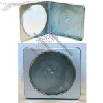 CD Tin Case - Square - With Window - 10 Pack