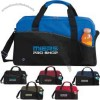 Center Court - Duffel Bag, Has Adjustable Shoulder Strap With Fabric Wrapped Carrying Handles