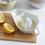Ceramic Citrus Lemon Juicer with Strainer