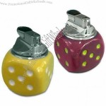 Ceramic Lighter with Dice Design