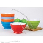 Ceramic Solid Color Ice Cream Bowl