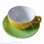 Ceramic Soup Cup and Saucer Set