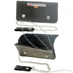 Chain Wallet with Outside Card Slot