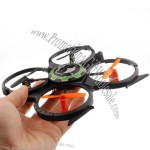 Charge Remote Control Shaft 2.4g Rotor RC Model UFO Flying Saucer Model Toy