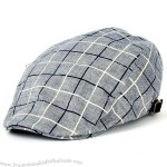 Check Pattern Flat Cap Cabbie Ivy Newsboy Hunting Irish Driving Hat