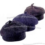 Chenille knitted cap