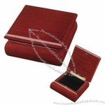 Cherry Wooden Keepsake Boxes, High-glossy Piano Finish, Velvet Interior