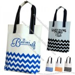 Chevron Pattern 600D Polyester Tote Bag