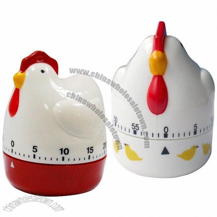 chicken shaped mechanical countdown kitchen timer discount