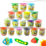 Child color clay baby modeling clay educational toys questionable 140g